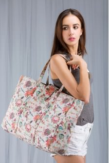 Chidiya Large Tote Bag