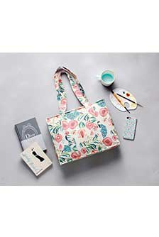 Anaar Aur Mor Medium Tote Bag